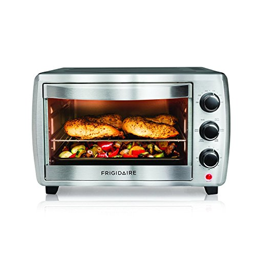 Frigidaire 6-Slice Convection Toaster Oven, 6 Cooking Settings FRCN06K5NS