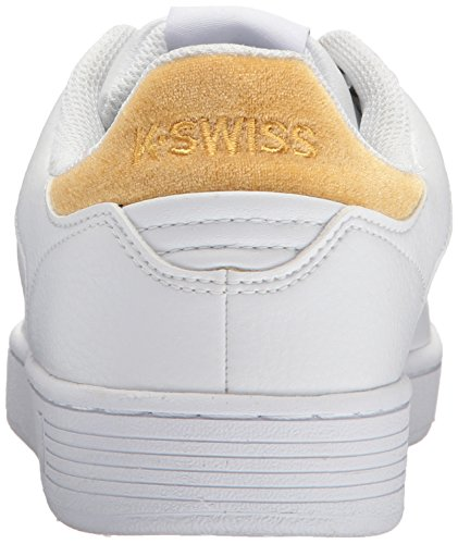 Court Gold Swiss K Basses Cmf Femme Bright White Clean Sneakers qExW4xfg