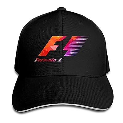 Formula 1 Logo Printed 100% Cotton Adjustable Cap from Scott Wind