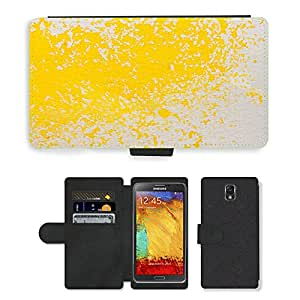PU LEATHER case coque housse smartphone Flip bag Cover protection // M00151432 Acuarela Pintura Técnica // Samsung Galaxy Note 3 III N9000 N9002 N9005