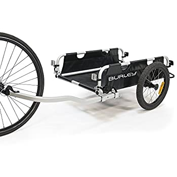 Image of Burley Flatbed, Aluminum Utility Cargo Bike Trailer Child Seats & Cargo Trailers