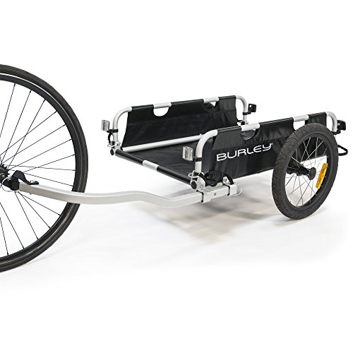Burley Flatbed, Aluminum Utility Cargo Bike Trailer (Best Kayak Trailer Designs)
