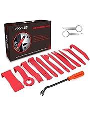 Auto Trim Removal Tool, Phyles 14-delige Auto Trim Wedge Set Automotive Reparatiegereedschap Universeel voor het verwijderen van autodeurpaneel en panelen, rood
