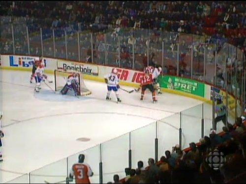 February 25, 1995: Philadelphia Flyers vs. Montreal Canadiens