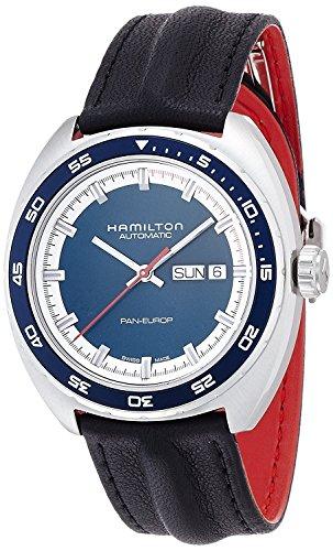 HAMILTON watch Pan Europ Automatic H35405941 Men's [regular imported goods]