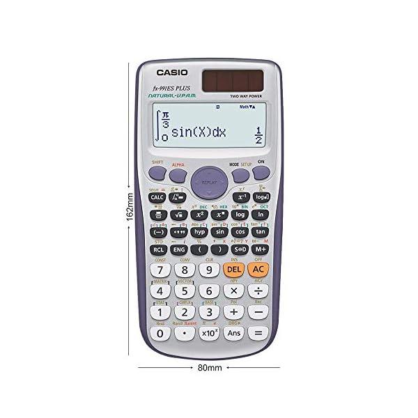 Casio FX-991ES Plus Non-Programmable Scientific Calculator, 417 Functions 3