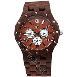 WTPK025 Men's Watch Natural Wooden Watch Thanksgiving