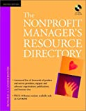 The Nonprofit Manager's Resource Directory, Ronald A. Landskroner, 0471392421