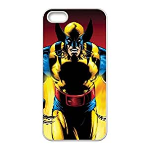 Wolverine iPhone 5 5s Cell Phone Case-White Phone cover R49377178