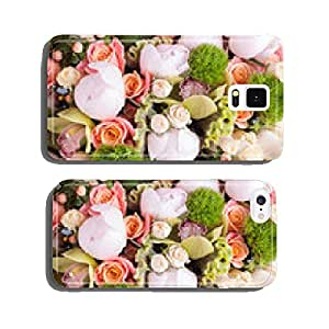 Abstract background of flowers. cell phone cover case iPhone6