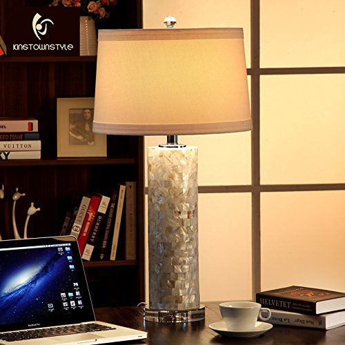 LINA-Creative natural seashells parlor lamps American minimalist luxury villa upscale bedroom bed lamps by LINA chandelier (Image #1)