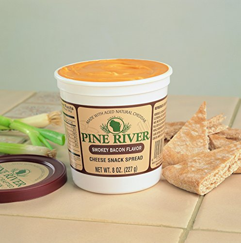 Pine River Smokey Bacon Cheese Spread (3-8oz tubs) Shelf Stable