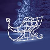 Brite Star Imports-a 48-097-23 Lighted Led Sleigh Sculpture 42''