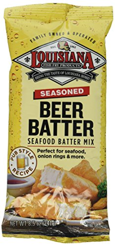 - Louisiana Seasoned Beer Batter Mix 8.5 oz - 2 Pack