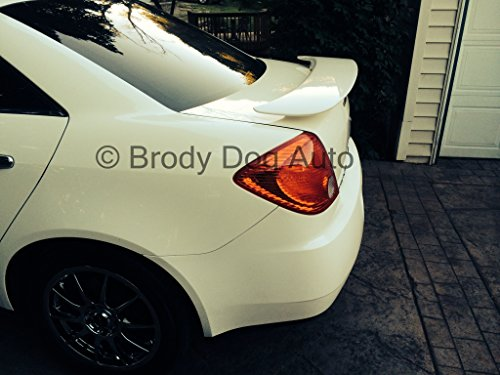 Pontiac G6 4dr Spoiler 4 door Custom Style 2 Post Pre Primed Ready To Paint. FREE SHIPPING