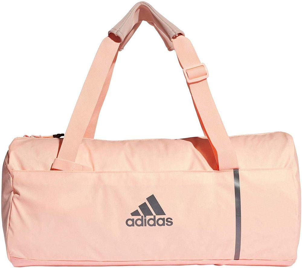 adidas Convertible Training Duffel Bag adidas dm7783 Backpack Unisex Adult White/Pink (rossho) M