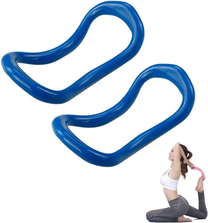 Sunsign Fitness Circles Yoga Ring Pilates Training Ring for Back and Leg Pain Home Workouts Gym