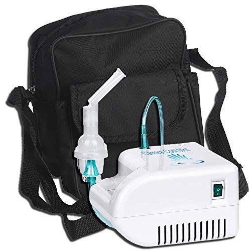 Cool Mist_Vaporizer_Inhaler Compressor - Two Mask - Kit - Carry Bag COMPRESSORS 4 YOU