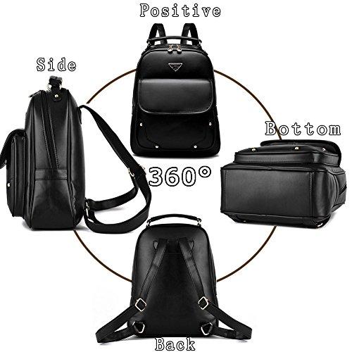G-AVERIL GA1061-C - Bolso mochila  para mujer azul marino Large Wine red1