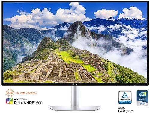 Dell S2719DC USB-C 27 Inch QHD (2560 x 1440) Monitor, 60 Hz, IPS, 5 ms, AMD FreeSync, InfinityEdge Bezel, 99% sRGB, HDR…