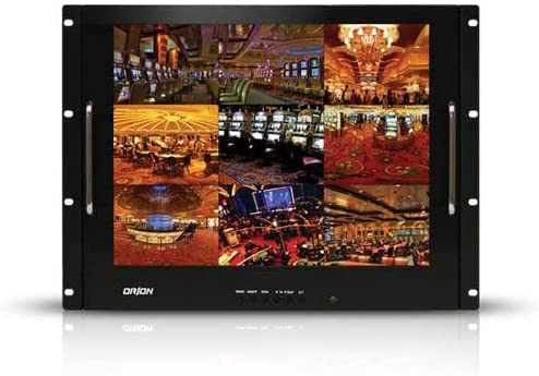 B001UKNDUS Orion Images Corp 17RCR 17-Inch Rackmount Ready LCD Monitor (Black) 51DSas5I93L.