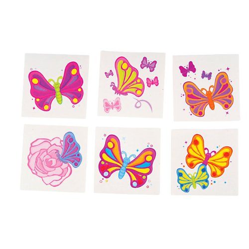Rhode Island Novelty Butterfly Temporary