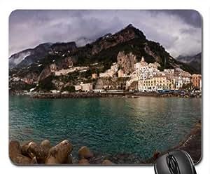amalfi coast Mouse Pad, Mousepad (Mountains Mouse Pad)