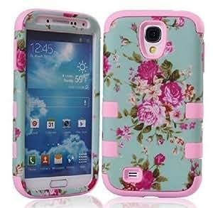 Samsung S4 ,Samsung S4 Case,Samsung S4 cases,Tiancase Hybrid Case 3 in1 Fashion Design Cover Case for Samsung Galaxy S4 i9500
