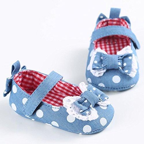 Omiky® Mode 2017 Baby Kleinkind Niedliche Krippe Schuhe Slip On Comfort Schuhe Loafers Soft Prewalker Anti-Rutsch-Schuhe