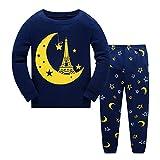 Qzrnly Toddler Pajamas Boy Short Pjs Sets Dinosaur Cotton Summer Kids Sleepwear