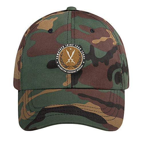 Combined Joint Task Force Operation Inherent Resolve Hat | Military OIR  Syria Veteran Gift Green Camo