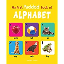 My First Padded Book Of Alphabet Early Learning Padded Boa