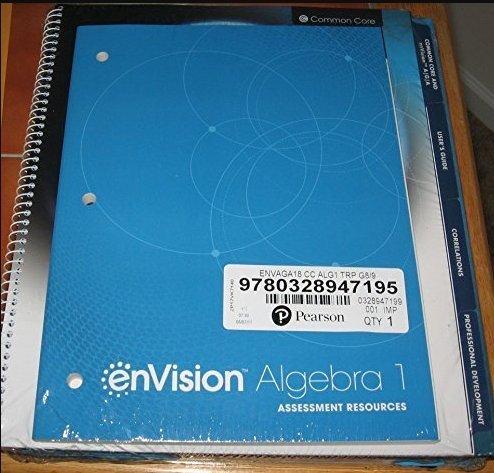 enVision Algebra 1 CC 2018 Teacher Resource Package
