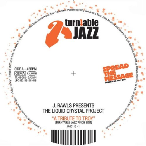 Tribute to Troy (Turntable Jazz 7 Inch Edit) ()