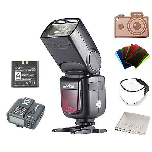 Godox Ving V860II-N I-TTL Li-ion Flash and X1T-N Trigger, Speedlite for Nikon Cameras D800 D700 D7100 D7000 D5200 D5100 D5000 D300 D300S D3200 D3100 D3000 D200 D70S D810 D610 D90 D750 (V860IIN+X1TN)