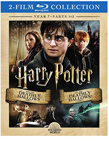 Harry Potter Double Feature: The Deathly Hallows Part 1 & 2 [Blu-ray] (Harry Potter And The Deathly Hallows Blu Ray)