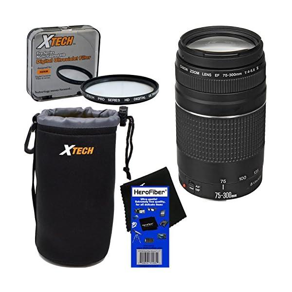 51DSdZy8xUL. SS600  - Canon EF 75-300mm f/4-5.6 III Telephoto Zoom Lens for EOS 7D, 60D, 70D, EOS Rebel SL1, SL2, T1i, T2i, T3, T3i, T4i, T5…