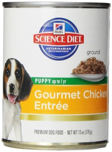 Hill's Science Diet Puppy Chicken & Barley EntrÃÂe Canne