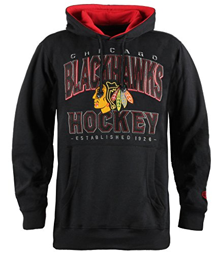 Black Nhl Pullover Sweatshirt (NHL Chicago Blackhawks Men's Blackops Pullover Hoodie, X-Large, Black)