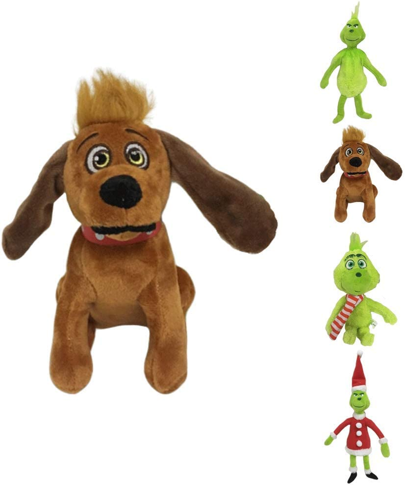 3 Desgin come il Grinch Rubò Il Natale farcito peluche giocattolo
