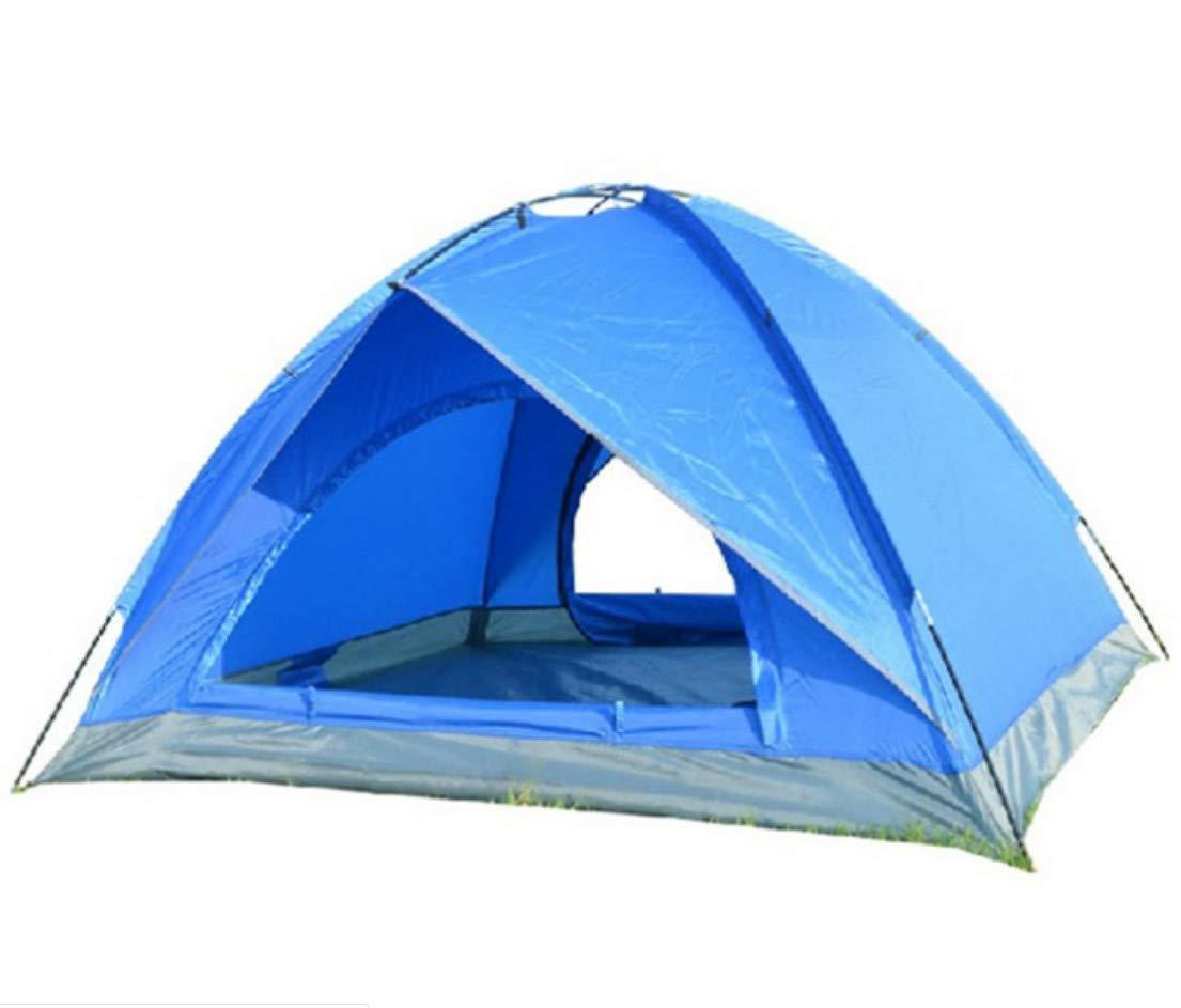 Camping & Hiking GUANGHUIO Double-layer rainproof 3-4 people waterproof camping tent