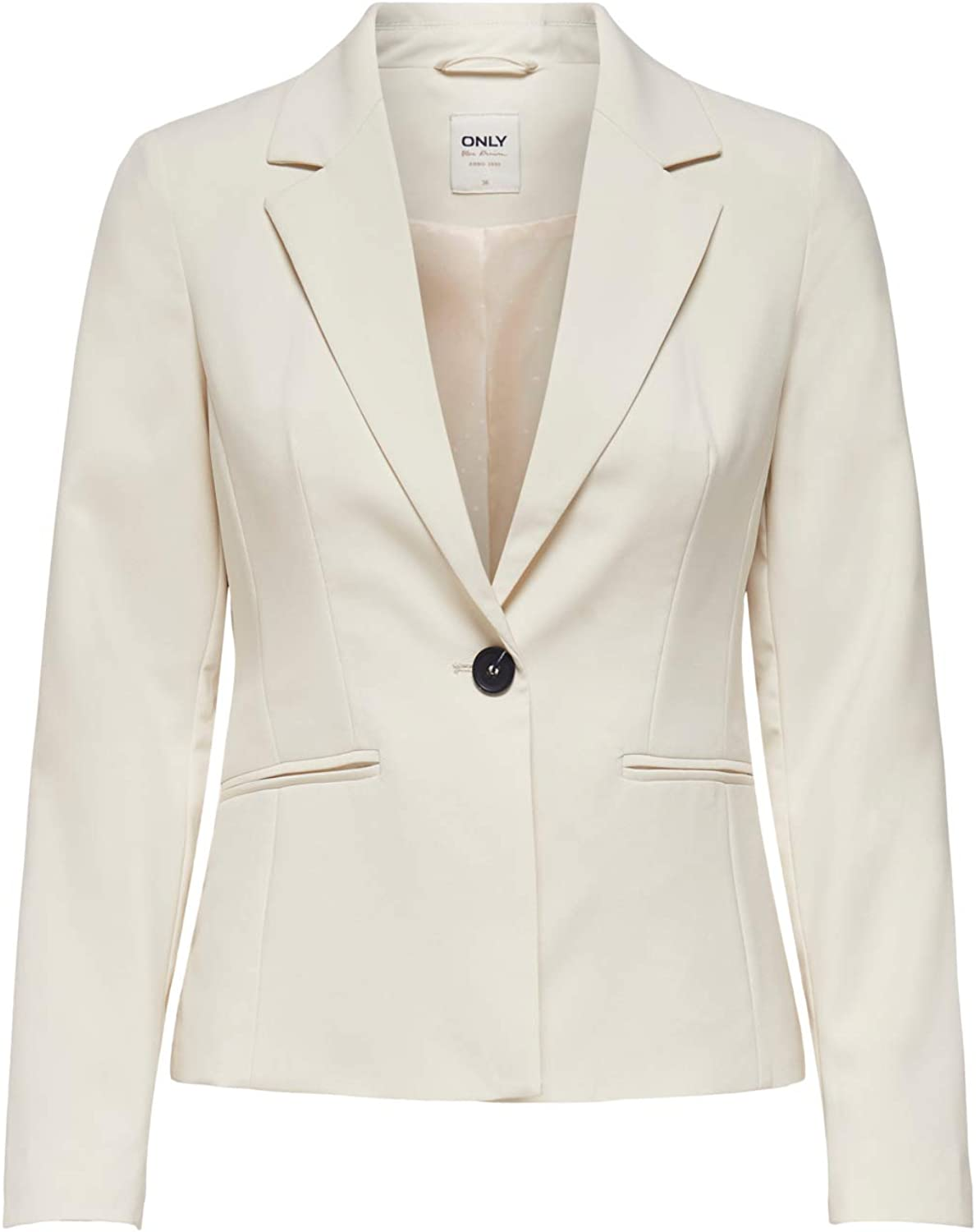 Only Onlselma-Astrid L//S Fitted Blazer CC TLR Donna