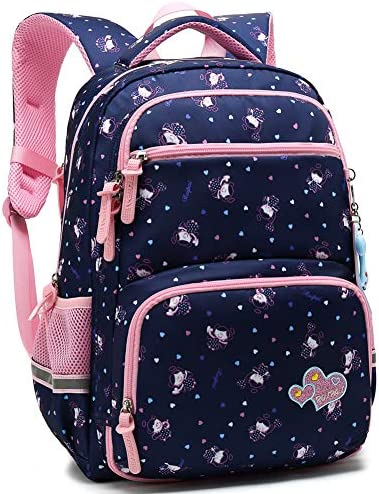 Backpack Princess Elementary Bookbag Royalblue product image