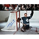 Johnny Bower Autographed 8X10 Photograph - Toronto Maple Leafs (Horizontal)