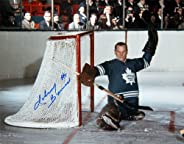 Johnny Bower Signed 8x10 Photo, TO Maple Leafs (Horizontal)