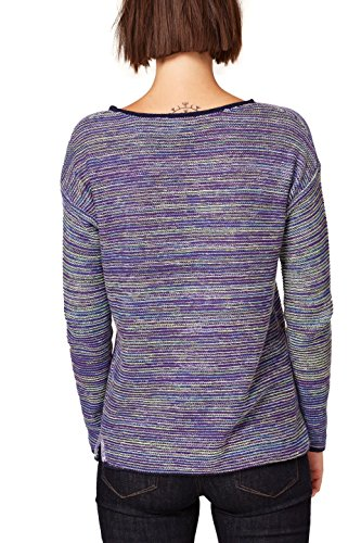 5 Pull Femme Esprit 509 Multicolore Violet Igpqa