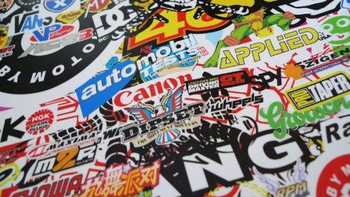 Free Tool Kit LION JDM Bomber Racing Graffiti Brand Car Auto Laptop Vinyl Wrap Sticker Decal Film Sheet - 60''X600'' by JDMBESTBOY (Image #4)