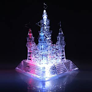 Crystal Eiffel Tower Cake Topper
