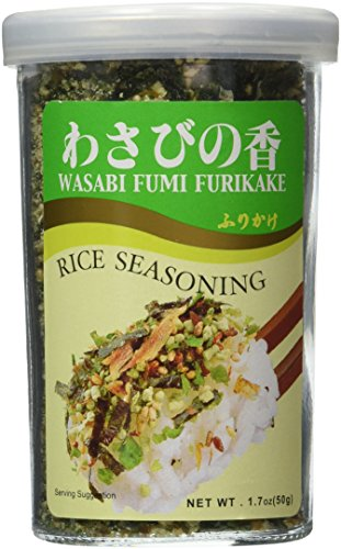 (JFC - Wasabi Fumi Furikake (Rice Seasoning) 1.7 Oz.)