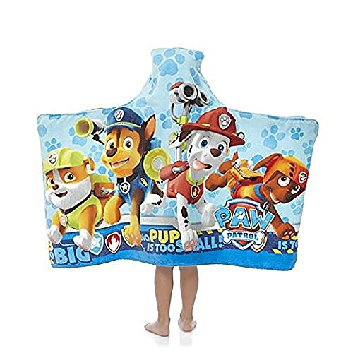 Paw Patrol Hooded Towel Wrap by Paw patrol